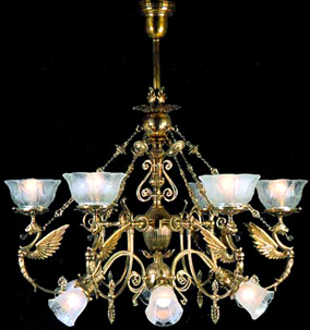 Antique Victorian Light Fixtures